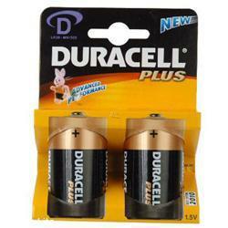 Duracell MN1300 Plus AlMn Batterien 1,5 Volt MONO im 2-er Blister