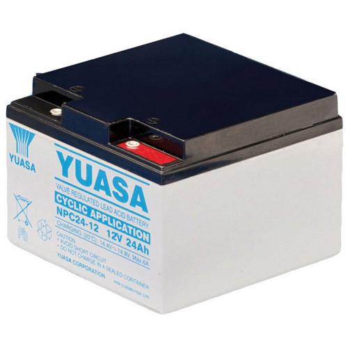 YUASA Bleiakku NPC24-12I 12,0volt 24,0Ah mit M5 Schraubanschluss