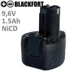 9,6V O-Pack Akku passend für Bosch 2 607 335 524 mit 2,0Ah Ni-MH