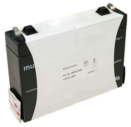 Multipower MP12-2.8 inkl Klettverschluss 12,0Volt 2800mAh