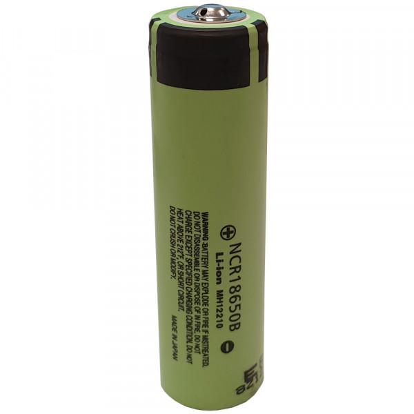 Panasonic NCR-18650B 3400mAh Button-Top Zelle