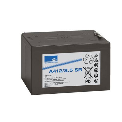 Exide Sonnenschein Bleiakku Dryfit A412/8.5SR 12,0Volt 8,5Ah mit 6,3mm Steckanschlüssen