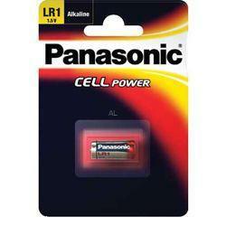 Panasonic Standard Batterie Lady LR1 (N) Cell Power Lady 1,5Volt 900mAh im Blister