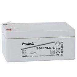 Exide Powerfit Bleiakku S312/3.2S 12,0Volt 3,2Ah mit 4,8mm Steckanschlüssen