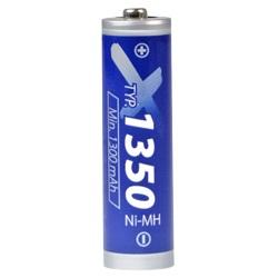 Xcell 1350 AA Test, erreichte Zeit: 83 Min.