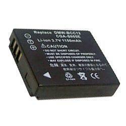 Akku passend für Panasonic CGA-S005 3,7Volt 1000-1150mAh Li-Ion (kein Original)