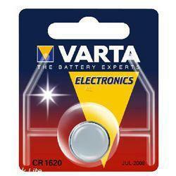 VARTA Lithium-Knopfzelle CR1620 3,0Volt 60mAh