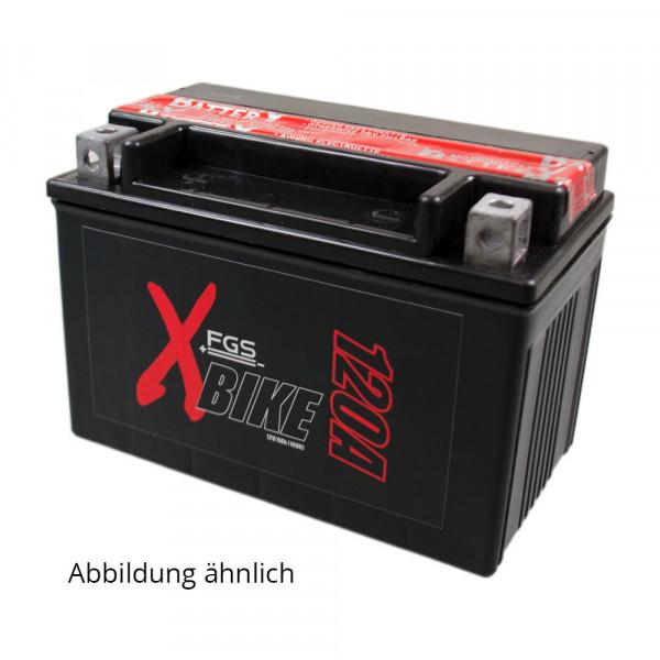 FGS Motorrad-Starterbatterie YTX20L-BS mit 12 Volt und 18 Ah mit MC Pol