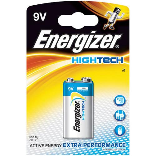9V Energizer HighTech E-Block Batterie AlMn 6LR61 - 1 Stück