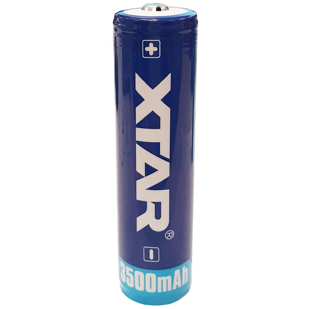 XTAR 18650 3500 Test, erreichte Zeit: 48 Min.