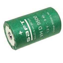 Saft VH D 9500 XP Flattop Mono Akku 1,2Volt 9500mAh NiMH