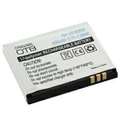 Akku passend für LG KE850 3,7Volt 800mAh Li-Poly (kein Original)
