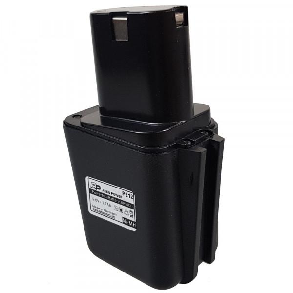 Werkzeug-Akku passend für Bosch 2 607 335 176 mit 9,6V 2.0Ah NiMH (P215)