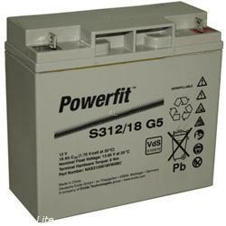 Exide Bleiakku Powerfit S312/18F5 12,0Volt 18Ah mit M5 Schraubanschluss