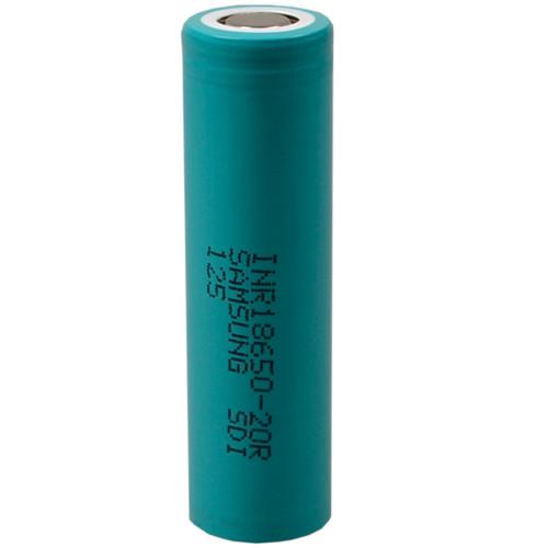 Samsung SDI INR18650-20R Li-Ion Zelle 3,6V 2,0Ah