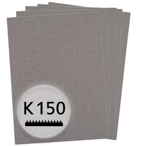 K150 Schleifpapier in 10 Bögen, 230x280mm - für Holz und Lack, Finishing