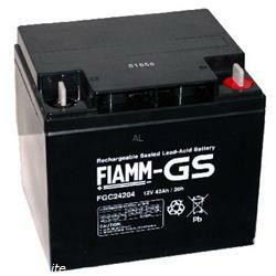 FIAMM Bleiakku FGC24207 Zyklen-Type 12V 42,0Ah Bleibatterie
