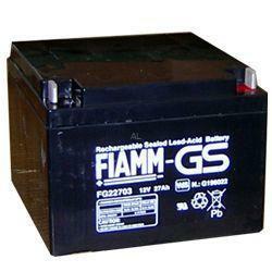 FIAMM Bleiakku FG22703 12 Volt 27,0 Ah mit M5 Schraubanschluss