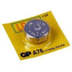 GP Knopfzellen Batterie GP76A Rechnerbatterie LR44 1,5Volt 110mAh AlMN