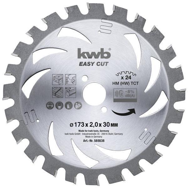 1,4mm HM Dünnschnitt-Kreissägeblatt Ø 173mmx30mm - Easy Cut