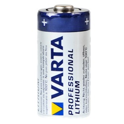 Varta CR123A Test, erreichte Zeit: 151 Min.