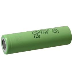 Samsung INR18650-15L Test, erreichte Zeit: 22 Min.