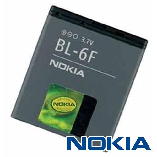 Original Nokia Akku BL-6F mit 3,7Volt 1.200mAh Li-Ion, bulk