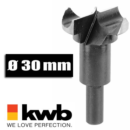 Scharnierlochbohrer Ø 30 mm für Bohrmaschinen u. Akkuschrauber