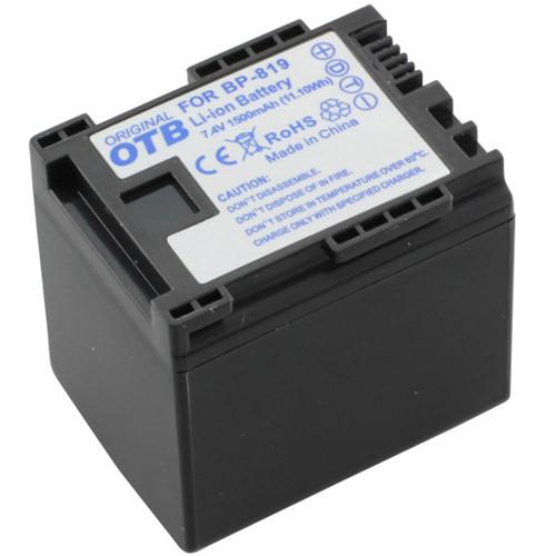 Akku passend für Canon BP-819 7,4Volt 1.500mAh Li-Ion (kein Original)