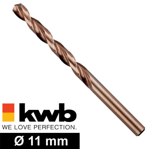 Ø 11 mm COBALT HSS CO Metall-Spiralbohrer