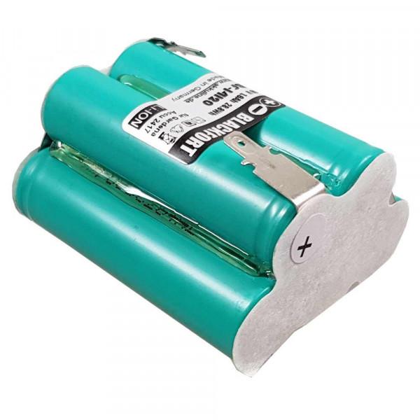Ersatz-Akku für Gardena Turbotrimmer AccuCut 2417 mit 18V Li-Ion 2,5Ah Zellenpaket