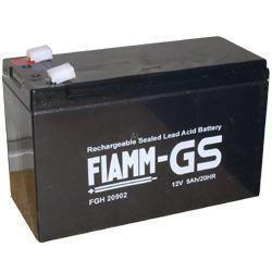 FIAMM Hochstrom Bleiakku 12FGH36 (FGH20902) 12 Volt 9 Ah mit 6,3mm Steckanschlüssen