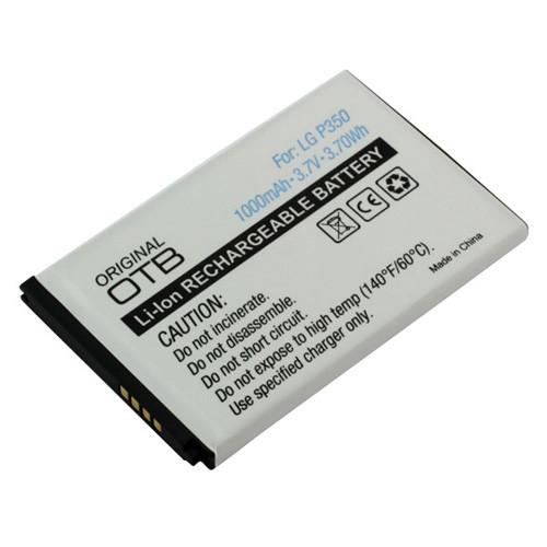 Akku passend für LG P350 Optimus ME 3,7Volt 1000mAh Li-Ion (kein Original)