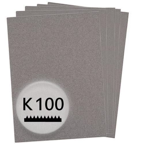 K100 Schleifpapier in 50 Bögen, 230x280mm - für Holz und Lack, Finishing