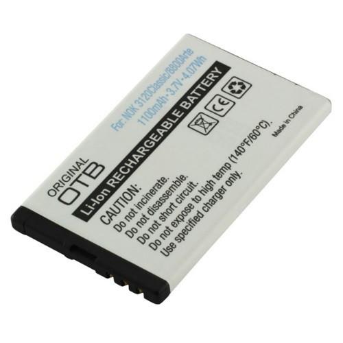 Akku passend für Nokia BL-4U 3,7Volt 1.100mAh Li-Ion (kein Original)