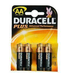 DURACELL Mignon Batterie MN1500 Plus LR6 Batterien im 4-er Blister