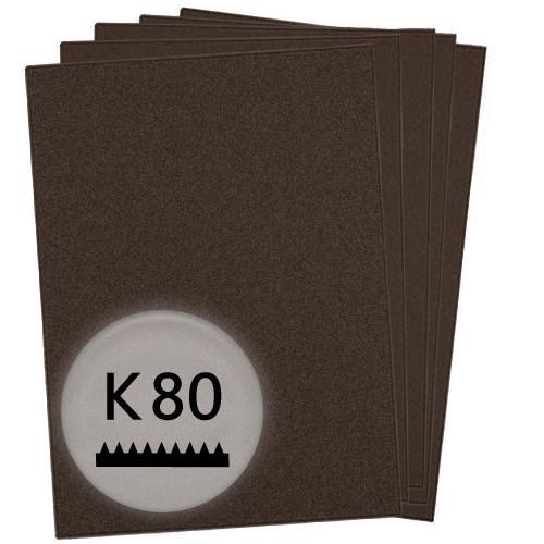 K80 Schleifpapier in 50 Bögen, 230x280mm - für Lack und Auto, wasserfest