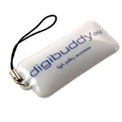 Diggybuddy Mini-Screencleaner zum Reinigen von Displays, Rückseite aus Fleece