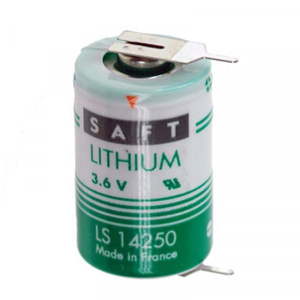 Saft Batterie LS142502PF 1/2AA, 2er Print, 3.6V