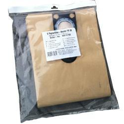 HiKoki Papierfilter 25 ltr. für Nass-/Trocken-Rüttelsauger der M-Klasse (5Stück)
