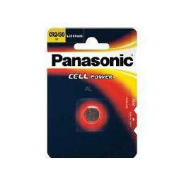 Panasonic CR2430 Lithium-Knopfzelle 3,0Volt 280mAh