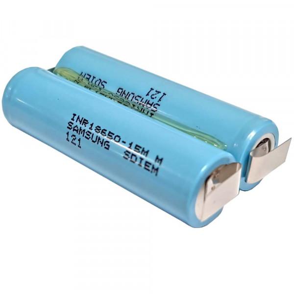 Akkupack für Dremel 1100 / 1120 - 7,2 Volt Li-Ion für Selbsteinbau