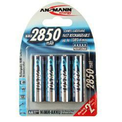 Ansmann Digital Mignon (AA) Blue Akkus 1,2Volt 2.700mAh NiMH im 4er Pack