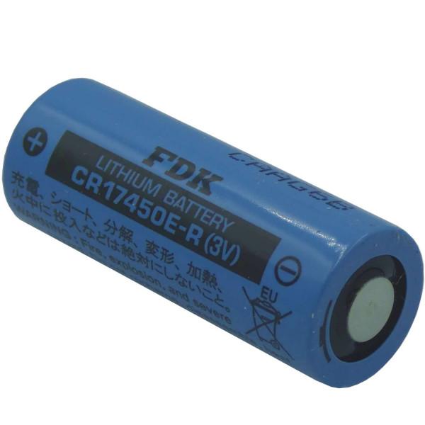 FDK CR17450E-R Lithium Zelle 3,0 Volt 2500mAh ohne Lötfahne