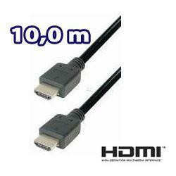HDMI Kabel mit 19 pol. Stecker - 10,0m