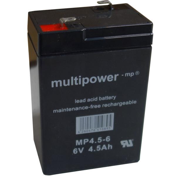 Multipower MP4.5-6 Bleiakku 6V 4.5Ah