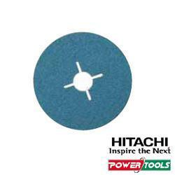 HiKoki Fiberschleifblätter f. Metall, Durchm.: 125 mm, K24 (25Stk.)