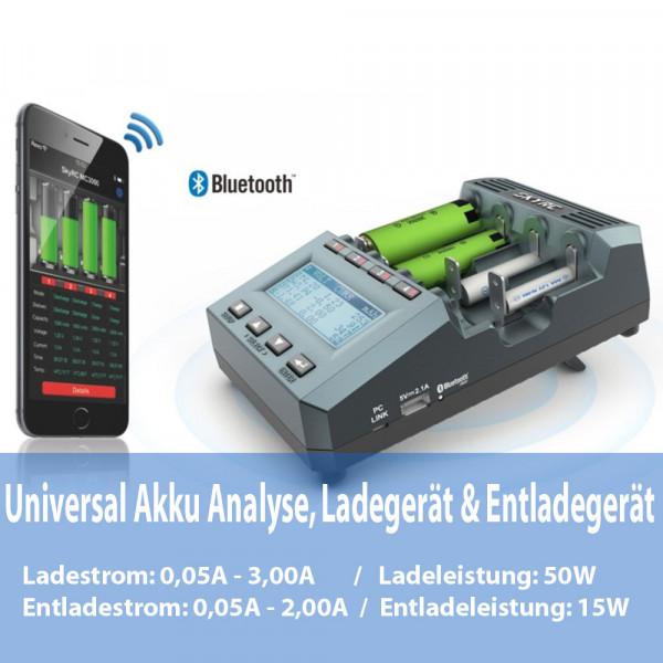 SkyRC MC3000 Profi Universal 50W Analyse-Ladegerät für alle Akku-Typen