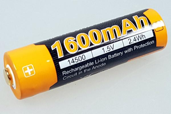 AA Li-Ion Akkumulator mit 1,5 Volt