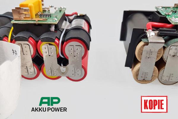 AP Akku mit Zellhalter und top Schweissverbindung